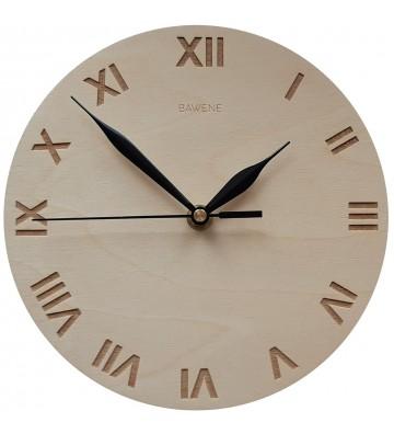 Klasyczny i elegancki zegar na ścianę